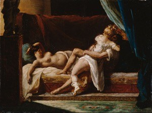 Three Lovers, Théodore Géricault.